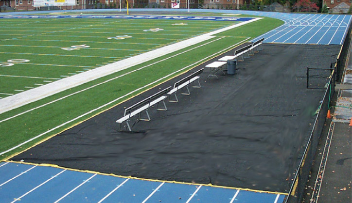 Bench Zone Sideline Track Protector | Track Accessories