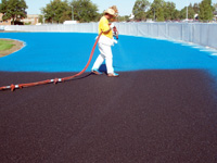 Structural Spray Application | Track Surface Services