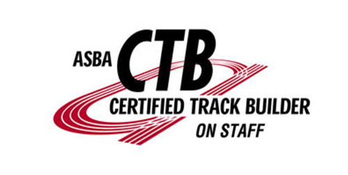 ASBA Certified Track Builders on Staff